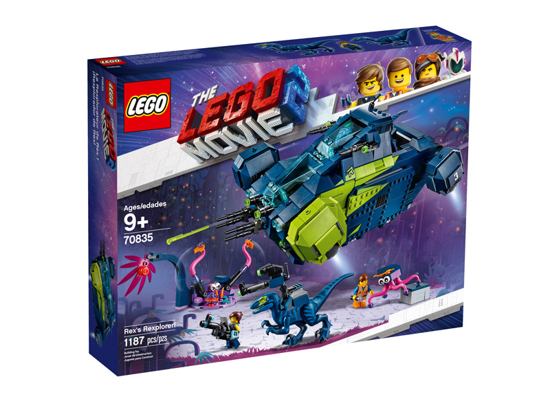 LEGO® Movie 2 70835 Rexs Rexplorer