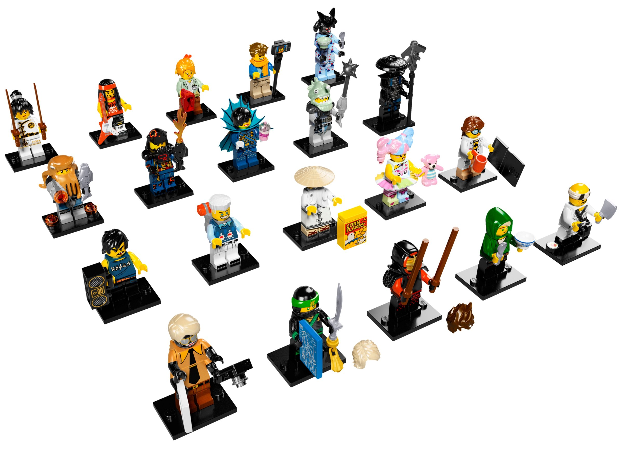 THE LEGO NINJAGO MOVIE™ - 71019 Minifigures 20 complete set