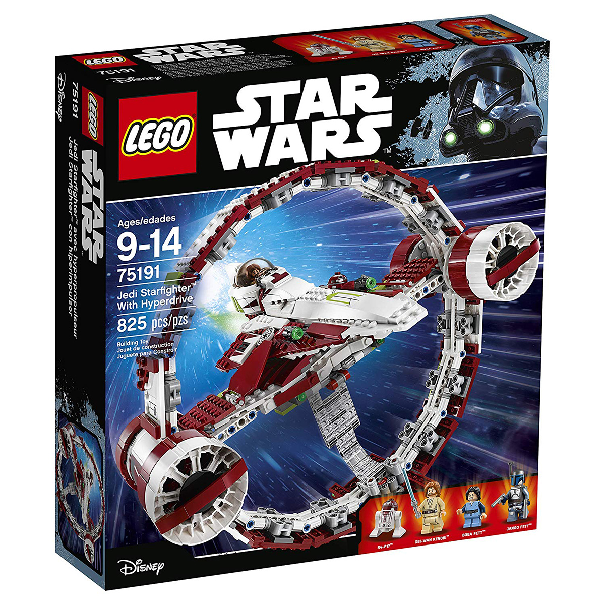 Star Wars™ 75191 Jedi Starfighter With Hyperdrive
