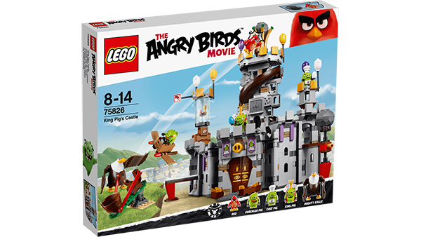 LEGO Angry Birds 75826 King Pigs Castle