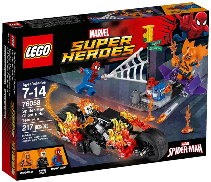 LEGO® Super Heroes 76058 SpiderMan Ghost Rider Team up