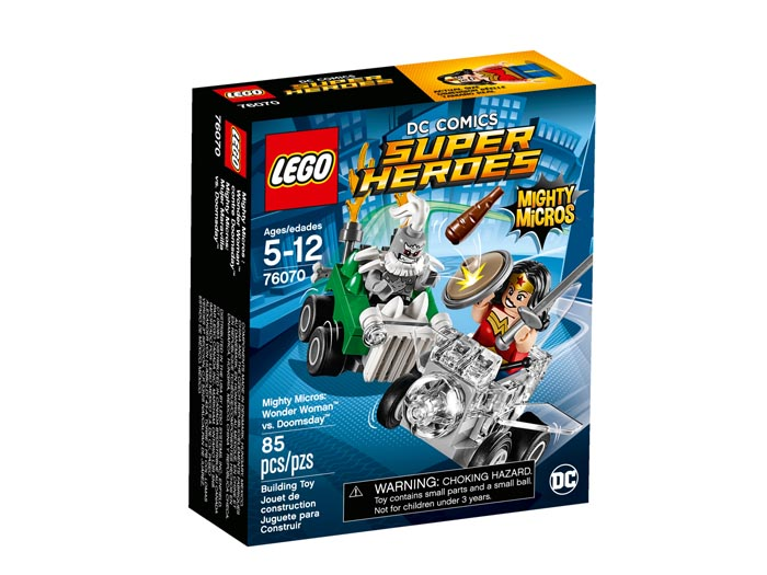 LEGO 76070 Super Heroes Mighty Micros Wonder Woman vs Doomsday