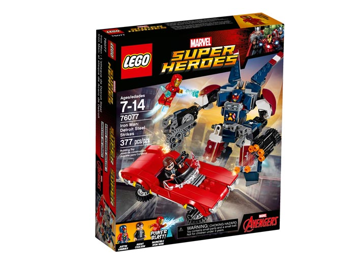 LEGO® 76077 Super Heroes Iron Man Detroit Steel Strikes