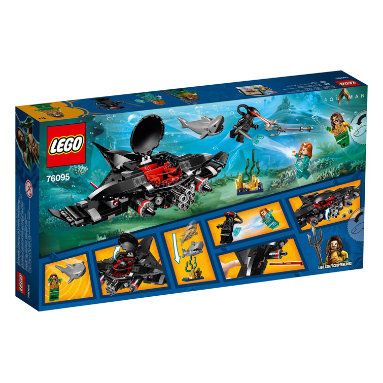 Super Heroes 76095 Aquaman Black Manta Strike