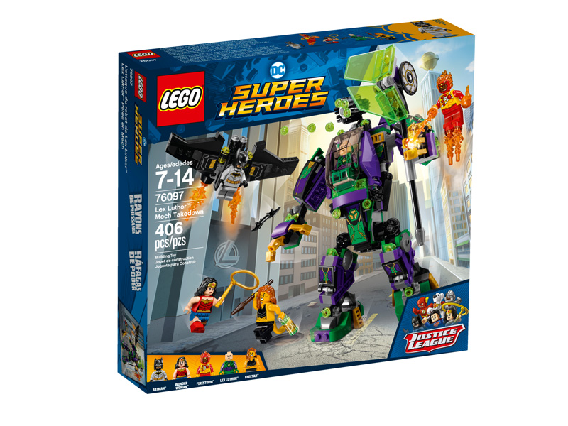 Super Heroes 76097 Lex Luthor Mech Takedown