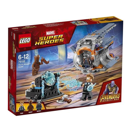 Super Heroes 76102 Thor's Weapon Quest