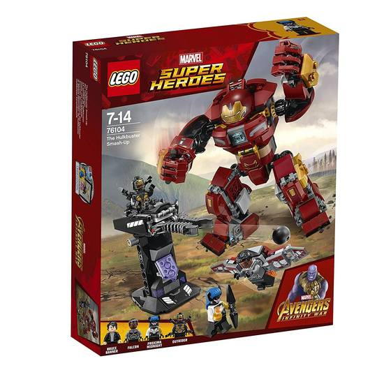Super Heroes 76104 The Hulkbuster Smash-Up