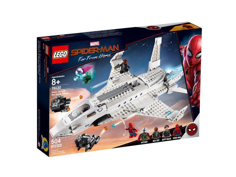 LEGO® 76130 Stark Jet and the Drone Attack