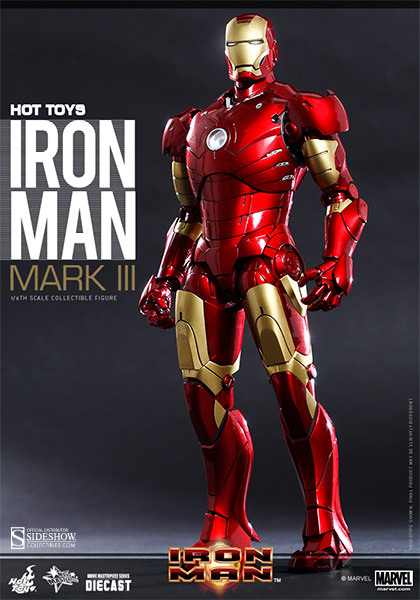 Iron Man Mark 3 Sixth Scale Figure by Hot Toys