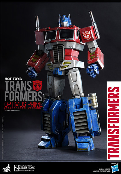 Optimus Prime Starscream Version Collectible Figure by Hot Toys