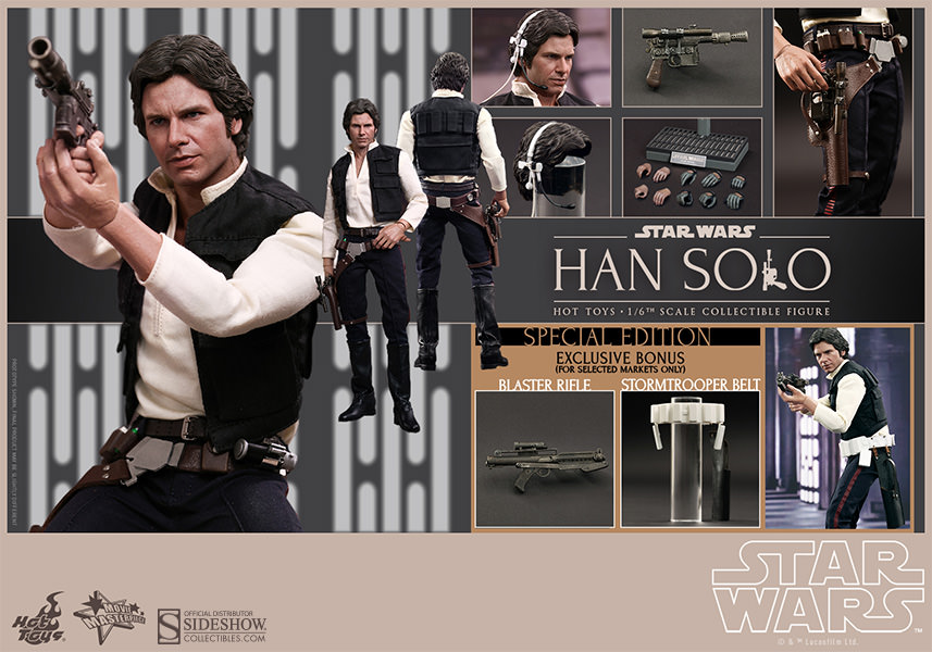 Han Solo Sixth Scale Figure by Hot Toys MMS261