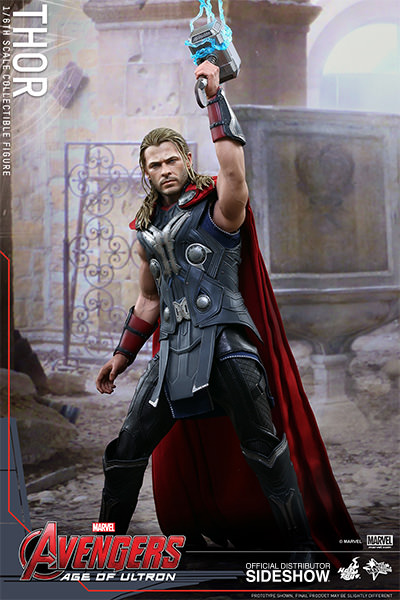 Age of Ultron Thor Sixth Scale Figure by Hot Toys MMS306