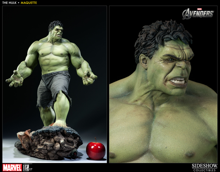 Hulk - The Avengers Maquette Sideshow
