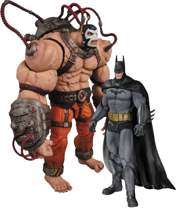 Batman - Arkham Origins Bane vs Batman 2 Pack