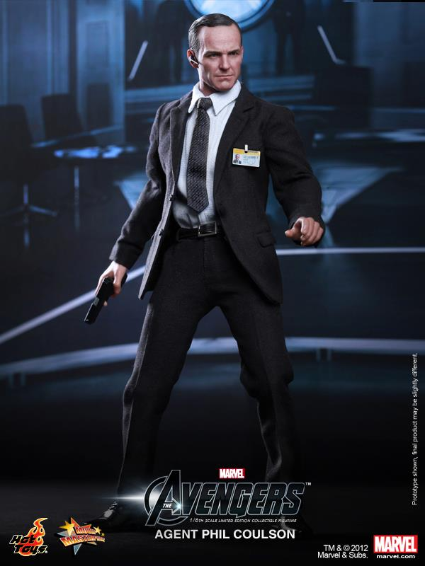 Avengers Agent Phil Coulson Hot Toys MMS189