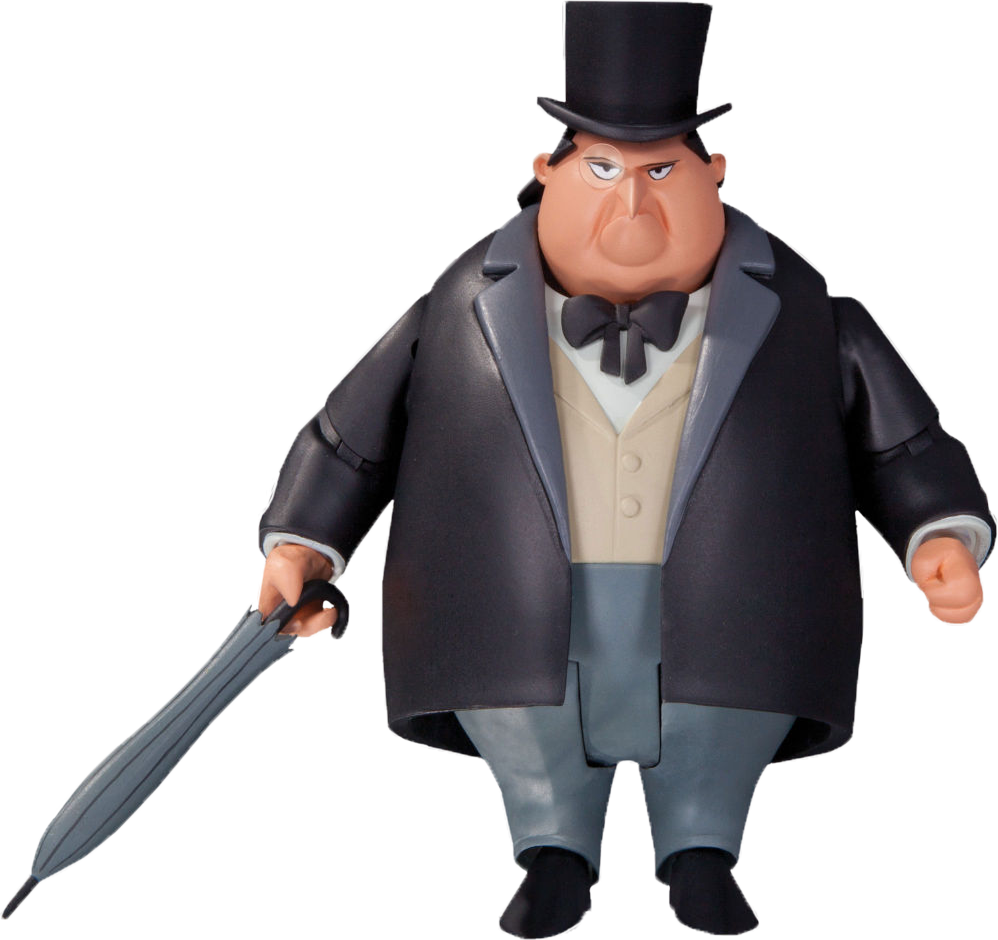 Batman Animated Series The Penguin Action Figure